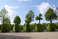Garden Schonbrunn Royalty Free Stock Photos