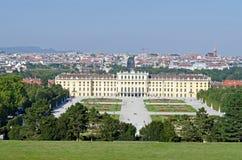 Garden of Schonbrunn Palace Stock Image