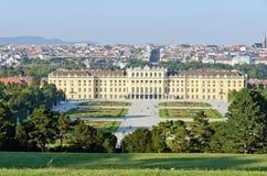 Garden of Schonbrunn Palace Royalty Free Stock Photo