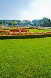Garden of Schonbrunn Palace Stock Images