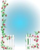 Garden Scrapbook Frame Stock Image