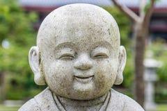 Garden sculpture. Sculpture at Asian Tample, Auckland, New Zealand stock photo