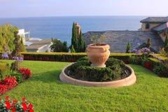 Garden Sea View, California, USA Stock Photos