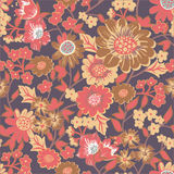 Garden seamless pattern Royalty Free Stock Photography