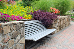 Garden Seat Stock Images