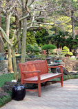 Garden Seat Stock Photos