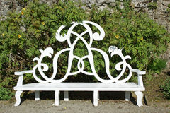 Garden seat Royalty Free Stock Images