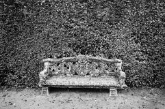 Garden seat, background Stock Photos