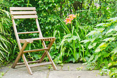 Garden seat Royalty Free Stock Photography