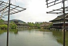 Garden See des Schrein-Japaners Heian Jingu, Kyoto Lizenzfreie Stockfotos
