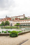 Garden of the Senate of the Parliament in Prague Royalty Free Stock Photos