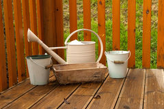 Garden set Royalty Free Stock Photography