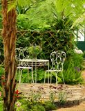 Garden set Stock Image