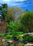 Garden setting Stock Image