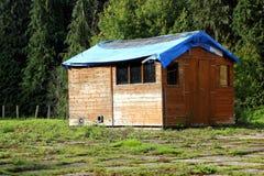 Garden shack Stock Image