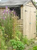 Garden Shed 1 Royalty Free Stock Image