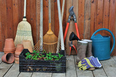 Free Garden Shed Stock Photography - 22258172