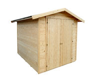 Garden shed Stock Images