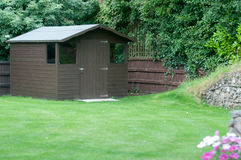 Garden shed Stock Image