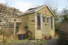 Garden shed. Stock Photos