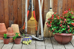 Garden shed two Royalty Free Stock Images