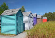 Garden Sheds Royalty Free Stock Images