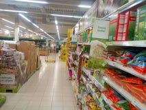 Garden shelves Stock Photography