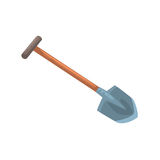 Garden shovel, agriculture tool cartoon vector Illustration Stock Photography