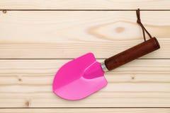 Garden shovel Stock Photography