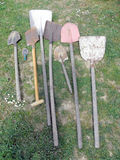 Garden shovels Stock Photography
