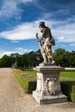The garden in Slavkov Castle Royalty Free Stock Photo