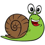 Garden Snail George Royalty Free Stock Photography