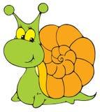 Garden Snail (vector clip-art). Vector clip-art / children's illustration for your design Royalty Free Stock Images