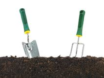 Garden Soil Royalty Free Stock Photo