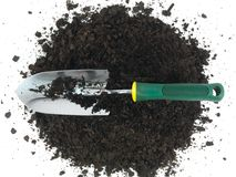 Garden Soil Royalty Free Stock Photography