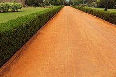 Garden Soil path stock photos