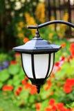 Garden solar lamp close up Stock Photo