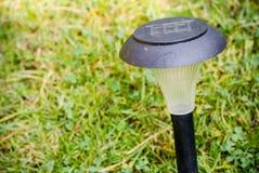 Garden solar lamp Stock Photo