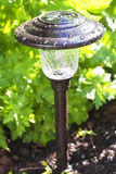 Garden Solar Light Stock Images