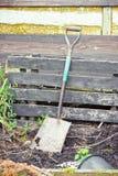 Garden spade Stock Photography