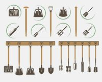 Garden spade Royalty Free Stock Photo