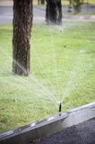 Garden sprinkler Royalty Free Stock Photography