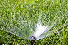 Garden sprinkler Royalty Free Stock Images