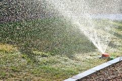 Garden sprinkler detailed background image Royalty Free Stock Photography