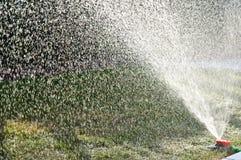 Garden sprinkler detailed background image Stock Photos