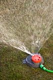 Garden sprinkler detailed background image Stock Photos