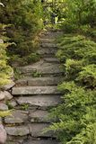 Garden Stairs stock photography