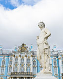 Garden statue in Catherine Palace Royalty Free Stock Images