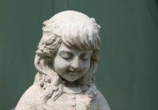 Garden statue decorated in garden. stock photography