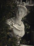Garden statue in greece Stock Images